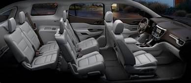 2018 GMC Acadia Interior  Mid Size Suv Luxury Top