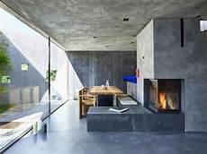 camini centrali rustici concrete house by wespi de meuron romeo architects