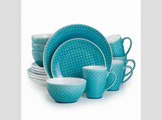 Palma 16 Piece Turquoise Dinnerware Set PAL 86660TQ   The