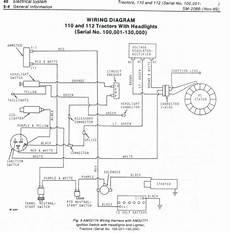 deere d110 mower wiring diagram wiring diagram and fuse box diagram
