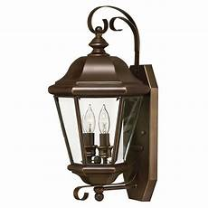 outdoor wall light with clear glass in copper bronze finish 2425cb destination lighting