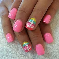 top 17 cute anchor strip nail designs new simple style