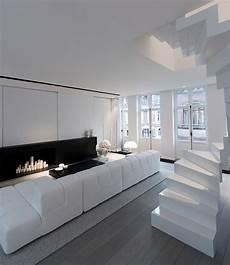 Maison Contemporaine Design Blanc Int 233 Rieur Moderne