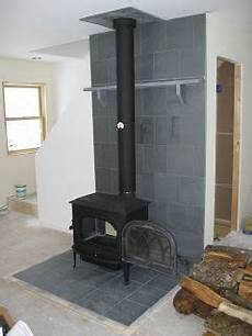 Heat Shield All The Way Up The Wall Wood Stove In 2019