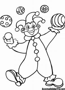 8 besten ausmalbilder clown zum ausdrucken 1ausmalbilder