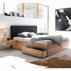 Bett Mit Kopfteil - hasena function comfort bettkasten bett kernbuche 180x200 cm