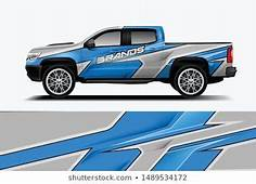 Car Decal Wrap Design Vector Graphic  Royalty Free Stock