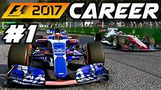 F1 2017 Career Mode Part 1 Australia It Begins