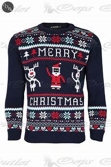 unisex herren damen weihnachten pullover sweatshirt retro
