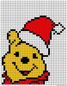 wine the pooh merry christmas wdp kruissteek borduren kerst borduurwerk strijkkralen en