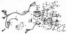 87 honda atv 250 wiring schematic honda atv 1987 oem parts diagram for wire harness partzilla