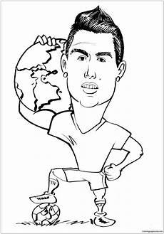 cristiano ronaldo image 17 coloring page free coloring