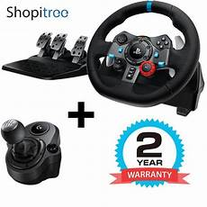 logitech g g29 driving steering wheel with shifter