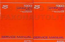 service manuals schematics 1993 chevrolet lumina apv regenerative braking 1993 chevy lumina apv minivan repair shop manual original 2 vol set