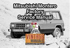 old cars and repair manuals free 1984 mitsubishi space engine control 1984 mitsubishi montero factory service manual vintagemanuals