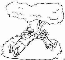 mann und hund schlafen ausmalbild malvorlage comics
