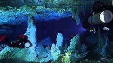 cave diving mayan blue youtube