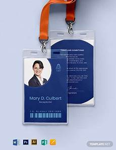 id card template gratis 43 free id card templates word psd indesign apple