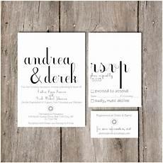 simple chic script wedding invitation package diy do it yourself printable invitation 36 00