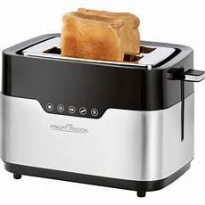 toaster schwarz profi cook pc ta 1170 toaster schwarz edelstahl digitalo
