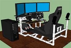 Sim Rig Gaming Desk My Diy Racing Rig Project