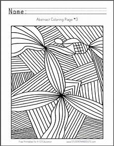 abstract patterns worksheets pdf 439 pin en coloring pages