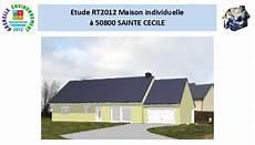 Etude Rt2012 224 Sainte Cecile 50800 Avenir Thermique