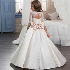 teen clothes dress girl 14years dress cloud long children kids wedding dresses european girls