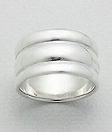 11mm wide solid sterling silver cigar band wedding ring size 5 classic shiny ebay