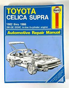 car repair manuals download 1982 toyota celica electronic toll collection haynes automotive repair manual 1139 for toyota celica supra 1982 thru 1986 used ebay