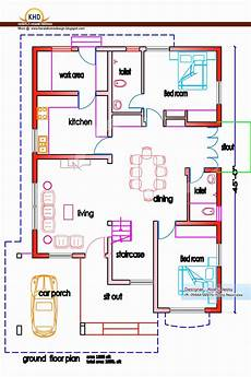 2 bedroom house plan kerala 15 beautiful kerala style homes plans free kerala style
