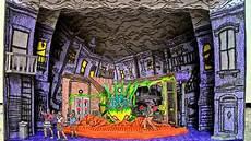 einrichten design paper model of the shop of horrors musical scenic