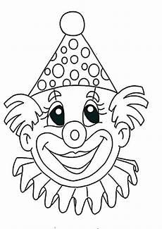 Clown Ausmalbilder Zum Ausdrucken Ausmalbilder Clown 4 Ausmalbilder Und Basteln Mit