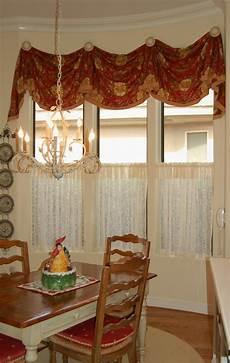 Kitchen Curtains Diy by Kitchen Valance With Caf 233 Curtain Home Decoration Diy