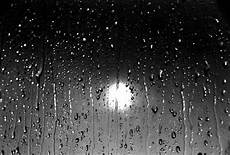 Warum Bleiben Regentropfen Stehen Wasser Fenster Regen