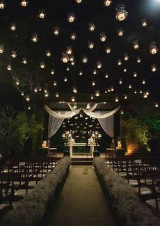 dark romantic wedding outdoor setting this would be