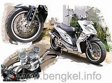 Modifikasi Puli Belakang Mio by Otomotif Modifikasi Honda Beat Si Putih