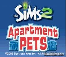 Sims Apartment Pets Ds Rom by Sims 2 The Apartment Pets Rom For Nintendo Ds