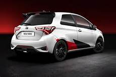 High Performance Derivative Of The 2017 Toyota Yaris