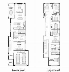 2 storey house plans for narrow blocks hi there today on floor plan friday i have this narrow