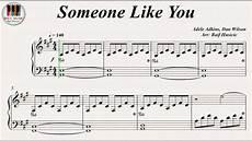 someone like you adele piano sheet music adele someone like you piano