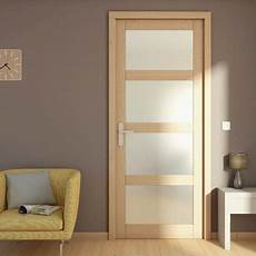 bloc porte bois larg 73 cm droite portes vitr 233 es