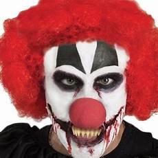 maquillage clown tueur homme 108811 dentier clown tueur