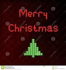 pixel art christmas card stock vector illustration of nostalgia 17186190
