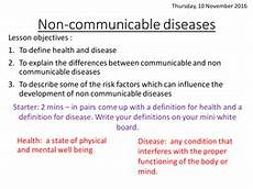 new aqa non communicable diseases by runchick2016 teaching resources