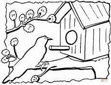 Malvorlagen Vogelhaus Gratis Ausmalbild Vogelhaus Ausmalbilder Kostenlos Zum Ausdrucken