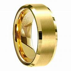 goes wedding 187 coolest black and gold tungsten wedding ring design