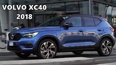 2018 volvo xc40 blue bursting blue
