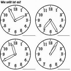 Malvorlagen Uhren Kostenlos Kostenlose Malvorlage Uhrzeit Lernen Arbeitsblatt Nr 4