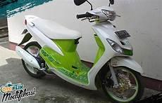 Modifikasi Motor Matic Mio Sporty by 250 Modifikasi Motor Matic Terkeren 2019 Honda Yamaha